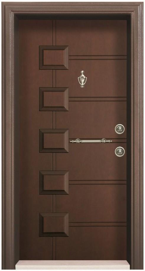 درب ضد سرقت برجسته با قفل کالی ترکیه
