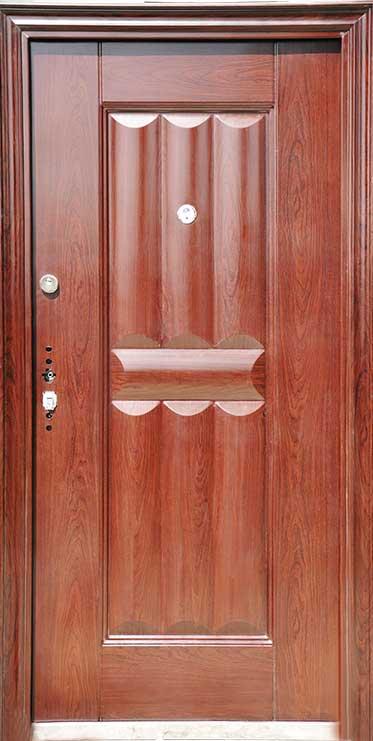 درب ضد سرقت سوداد دو قفل 035