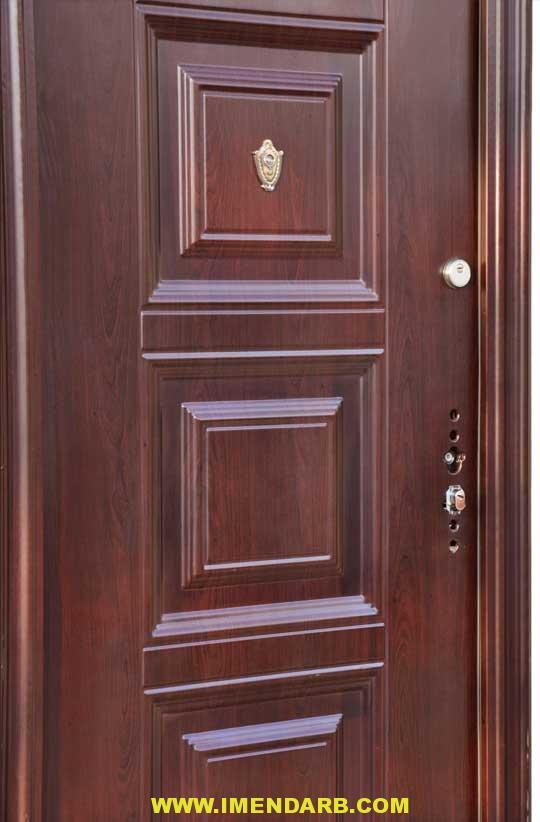 درب ضد سرقت سوداد دو قفل ۰۷۸