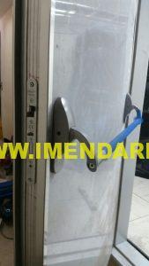 درب دیتا سنتر استیل با قفل آبلوی