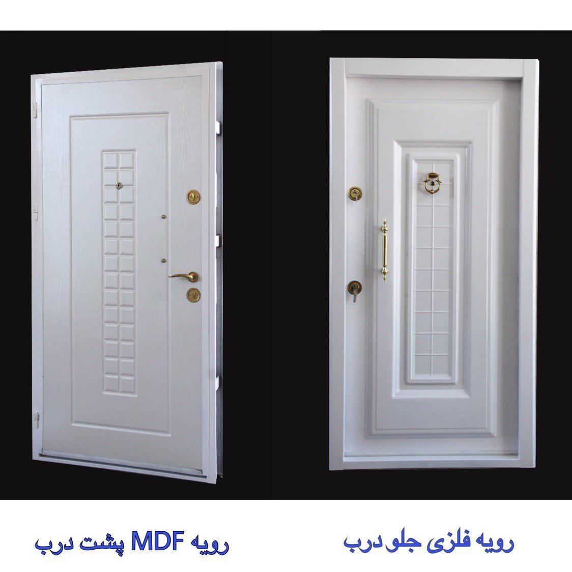 درب با روکش فلز